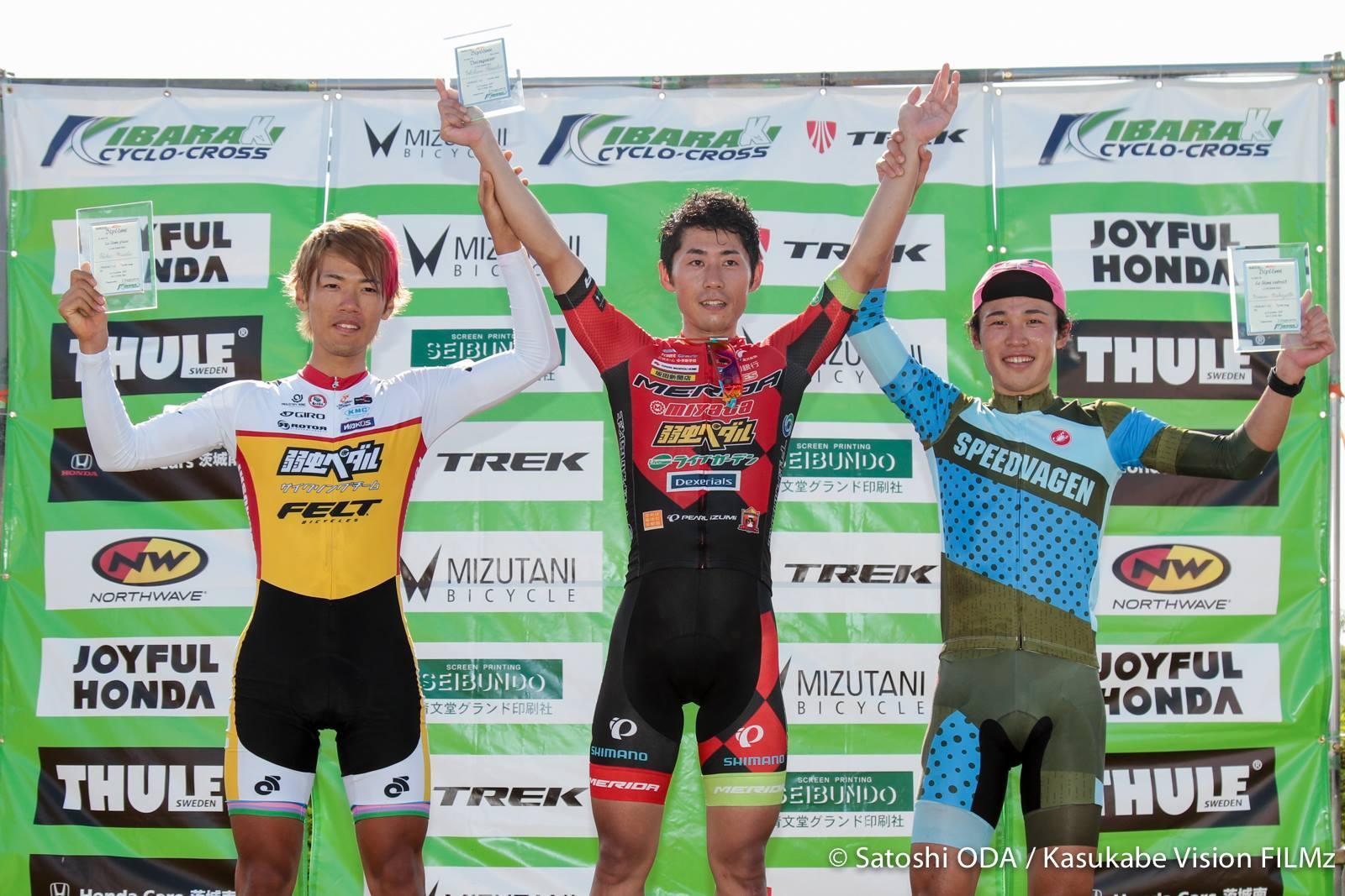 茨城CX#2「取手ステージ supported by TREK」JCX#1 UCI-class2