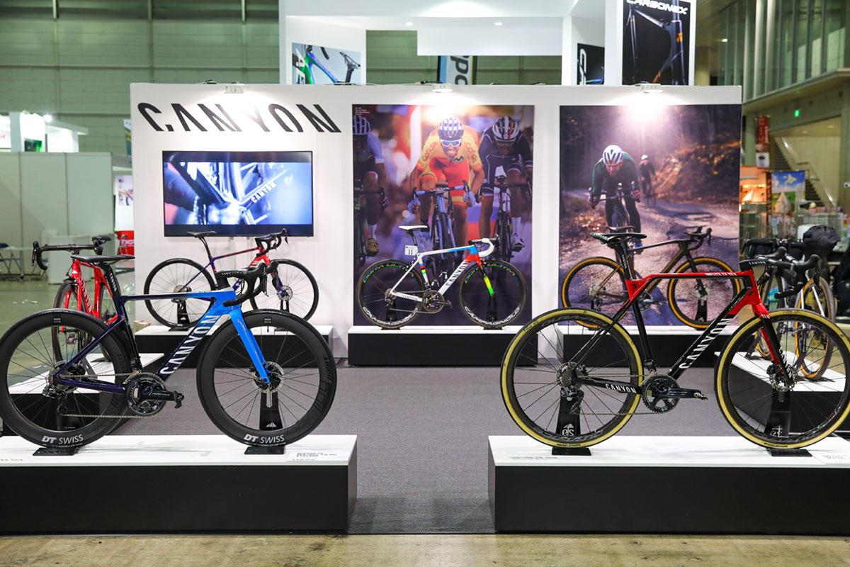 キャニオン サイクルモードインターナショナル2019に出展