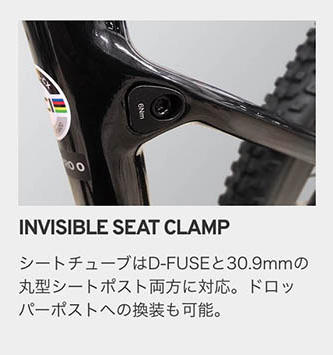 INVISIBLE SEAT CLAMP