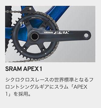 SRAM APEX1