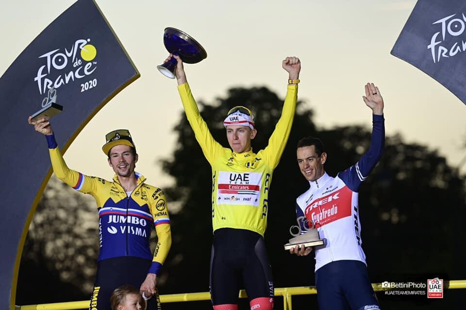 [Champion System] ツール・ド・フランス総合優勝記念! UAEチームエミレーツ公式レプリカウェア販売のお知らせ